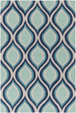 Artistic Weavers Holden Lucy Navy Blue/Turquoise Area Rug main image