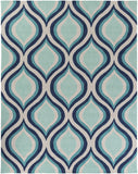 Artistic Weavers Holden Lucy Navy Blue/Turquoise Area Rug Main