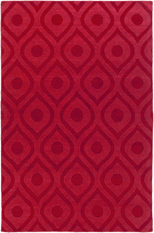 Artistic Weavers Central Park Zara Crimson Red Area Rug main image