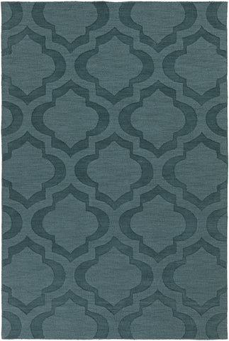 Artistic Weavers Central Park Kate Teal Area Rug main image
