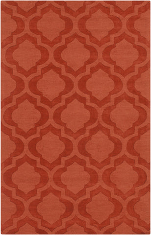 Artistic Weavers Central Park Kate Dark Orange Area Rug main image