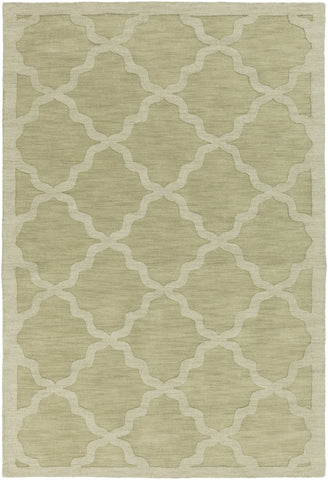 Artistic Weavers Central Park Abbey Sage Green Area Rug main image