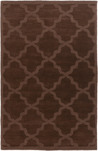 Artistic Weavers Central Park Abbey Chocolate Brown Area Rug main image