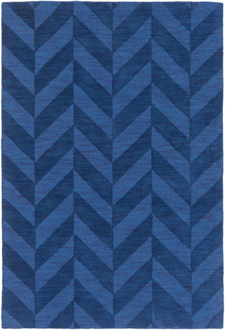 Artistic Weavers Central Park Carrie Royal Blue Area Rug main image