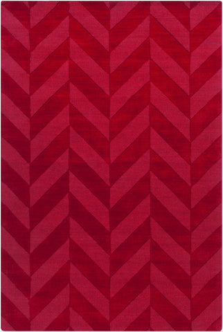 Artistic Weavers Central Park Carrie Crimson Red Area Rug main image