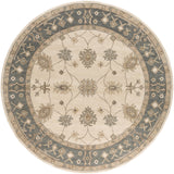 Artistic Weavers Middleton Willow Ivory/Gray Area Rug Round