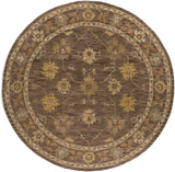 Artistic Weavers Middleton Lily Nutmeg/Gold Area Rug Round