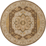 Artistic Weavers Middleton Mia Nutmeg/Straw Area Rug Round