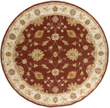 Artistic Weavers Middleton Hattie Rust/Gold Area Rug Round