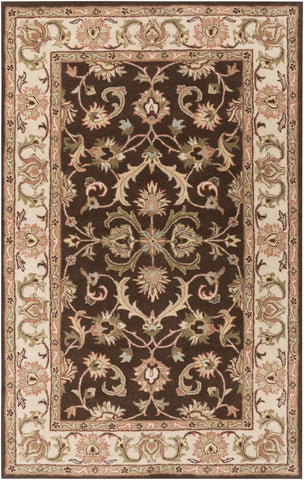 Artistic Weavers Oxford Aria Chocolate Brown/Olive Green Area Rug main image