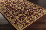 Artistic Weavers Oxford Aria Olive Green/Gold Area Rug Corner Shot