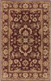 Artistic Weavers Oxford Aria Olive Green/Gold Area Rug main image