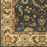 Artistic Weavers Oxford Aria Denim Blue/Olive Green Area Rug Swatch