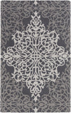 Artistic Weavers Hermitage Faith Charcoal/Gray Area Rug main image