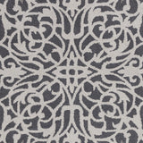Artistic Weavers Hermitage Faith Charcoal/Gray Area Rug Swatch