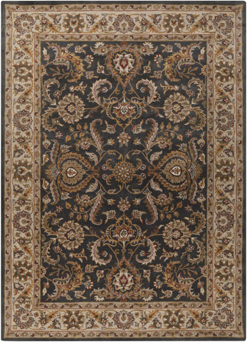 Artistic Weavers Middleton Georgia Onyx Black/Gold Area Rug main image