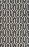 Artistic Weavers Impression Mandy Charcoal/Beige Area Rug main image