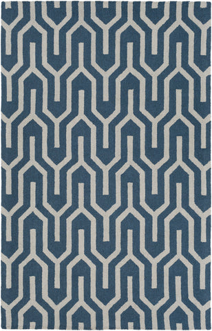 Artistic Weavers Impression Mandy Teal/Beige Area Rug main image