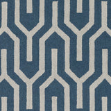 Artistic Weavers Impression Mandy Teal/Beige Area Rug Swatch