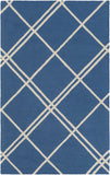 Artistic Weavers Impression Casey Royal Blue/Ivory Area Rug main image