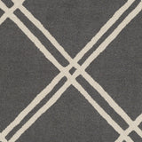 Artistic Weavers Impression Casey Charcoal/Ivory Area Rug Swatch