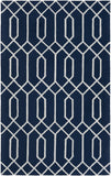 Artistic Weavers Impression Ashley Navy Blue/Ivory Area Rug main image