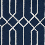 Artistic Weavers Impression Ashley Navy Blue/Ivory Area Rug Swatch