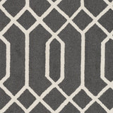 Artistic Weavers Impression Ashley Charcoal/Ivory Area Rug Swatch