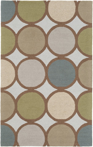 Artistic Weavers Impression Laura Sage Green/Denim Blue Area Rug main image