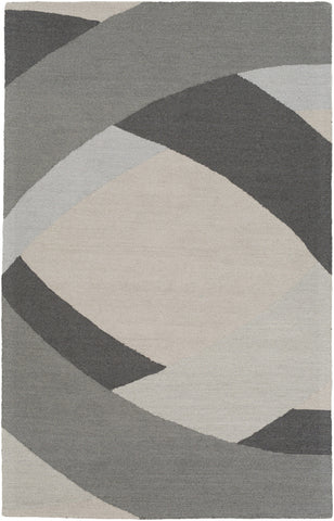 Artistic Weavers Impression Elsa Gray/Charcoal Area Rug main image