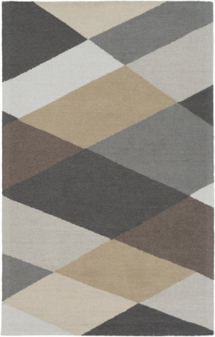 Artistic Weavers Impression Leah Gray/Charcoal Area Rug main image