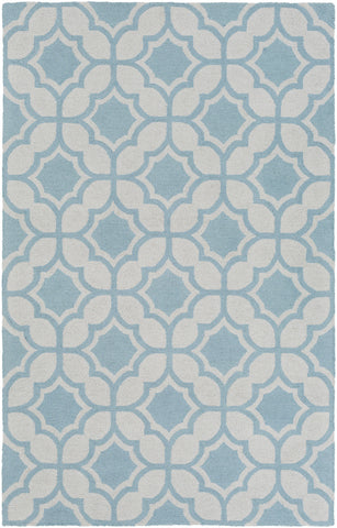 Artistic Weavers Impression Erica Light Blue/Ivory Area Rug main image