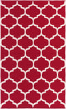 Artistic Weavers Vogue Everly Crimson Red/Ivory Area Rug main image