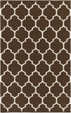 Artistic Weavers Vogue Claire Chocolate Brown/Ivory Area Rug main image