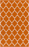 Artistic Weavers Vogue Claire Bright Orange/Ivory Area Rug main image