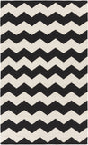 Artistic Weavers Vogue Collins Onyx Black/Ivory Area Rug main image