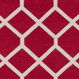 Artistic Weavers Vogue Elizabeth Crimson Red/Kelly Green Area Rug Swatch