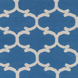 Artistic Weavers Vogue Lola Royal Blue/Ivory Area Rug Swatch