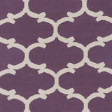 Artistic Weavers Vogue Lola Violet/Ivory Area Rug Swatch
