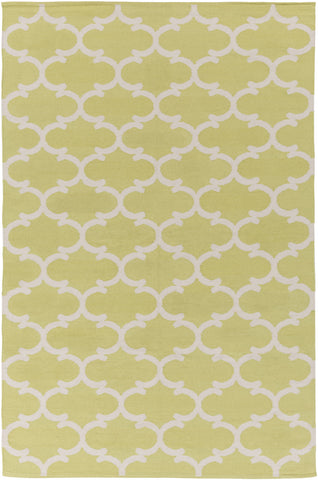 Artistic Weavers Vogue Lola Lime Green/Ivory Area Rug main image