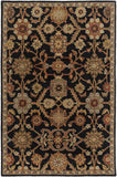 Artistic Weavers Middleton Victoria Onyx Black/Tan Area Rug main image