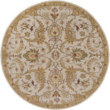 Artistic Weavers Middleton Lindsey Ivory/Light Yellow Area Rug Round
