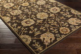 Artistic Weavers Middleton Allison Chocolate Brown/Gold Area Rug Corner Shot