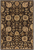 Artistic Weavers Middleton Allison Chocolate Brown/Gold Area Rug main image