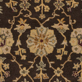 Artistic Weavers Middleton Allison Chocolate Brown/Gold Area Rug Swatch