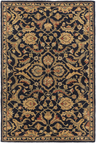 Artistic Weavers Middleton Ava Onyx Black/Terra Cotta Area Rug main image