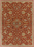 Artistic Weavers Middleton Ava Dark Orange/Light Yellow Area Rug Main