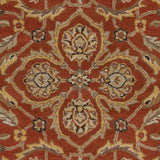 Artistic Weavers Middleton Ava Dark Orange/Light Yellow Area Rug Swatch