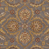 Artistic Weavers Middleton Ava Gray/Gold Area Rug Swatch