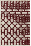 Artistic Weavers Transit Madison Rust/Beige Area Rug main image
